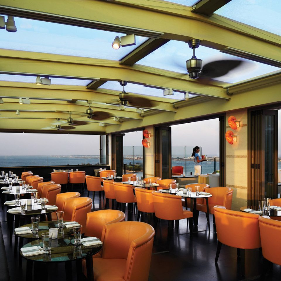 Dining Drink Eat Elegant Luxury Modern Nightlife Scenic views chair restaurant Bar café