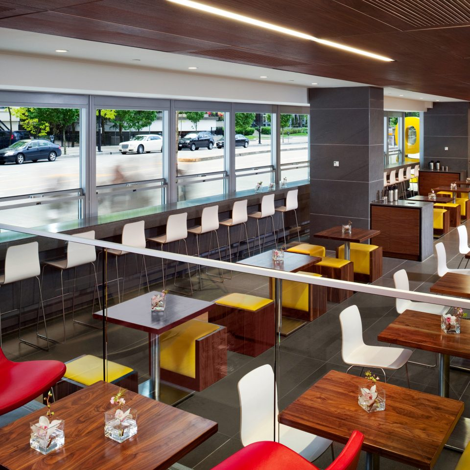 Dining Drink Eat Modern chair restaurant café cafeteria Lobby Bar