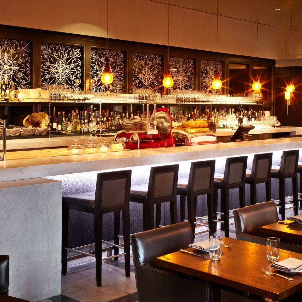 Bar Dining Drink Eat Luxury Modern restaurant café counter buffet