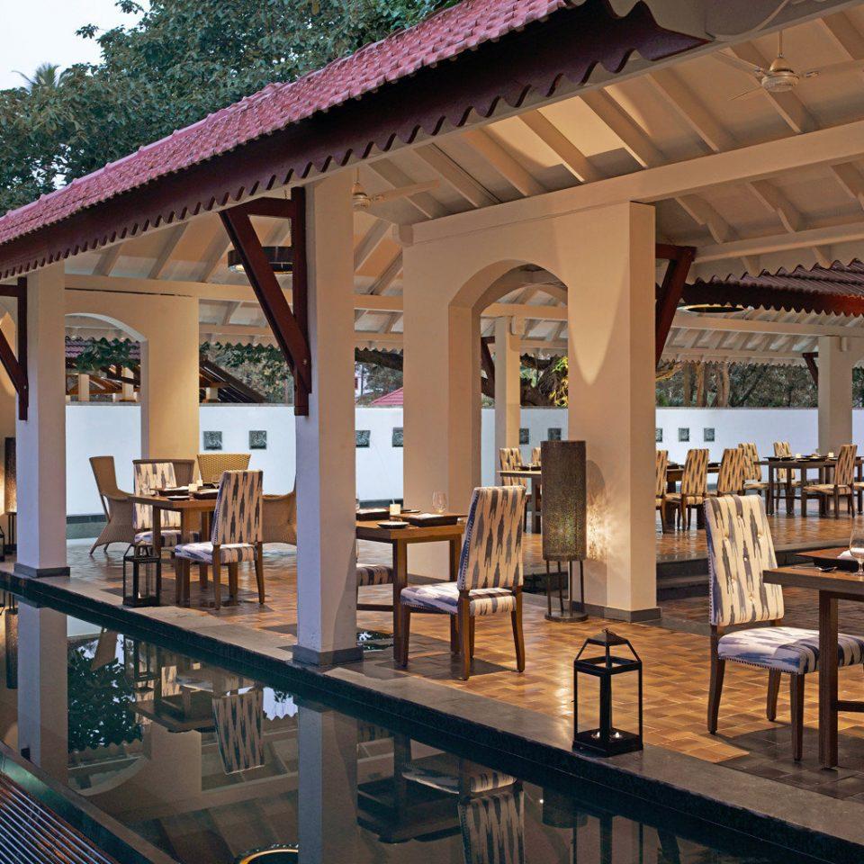 Dining Drink Eat Lounge leisure chair Resort restaurant wooden palace Bar Villa