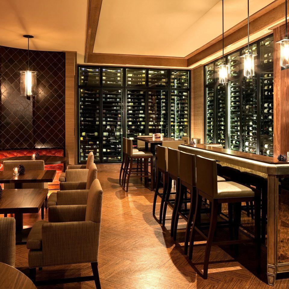 Bar Dining Drink Eat Hip Luxury Modern chair restaurant café Winery basement