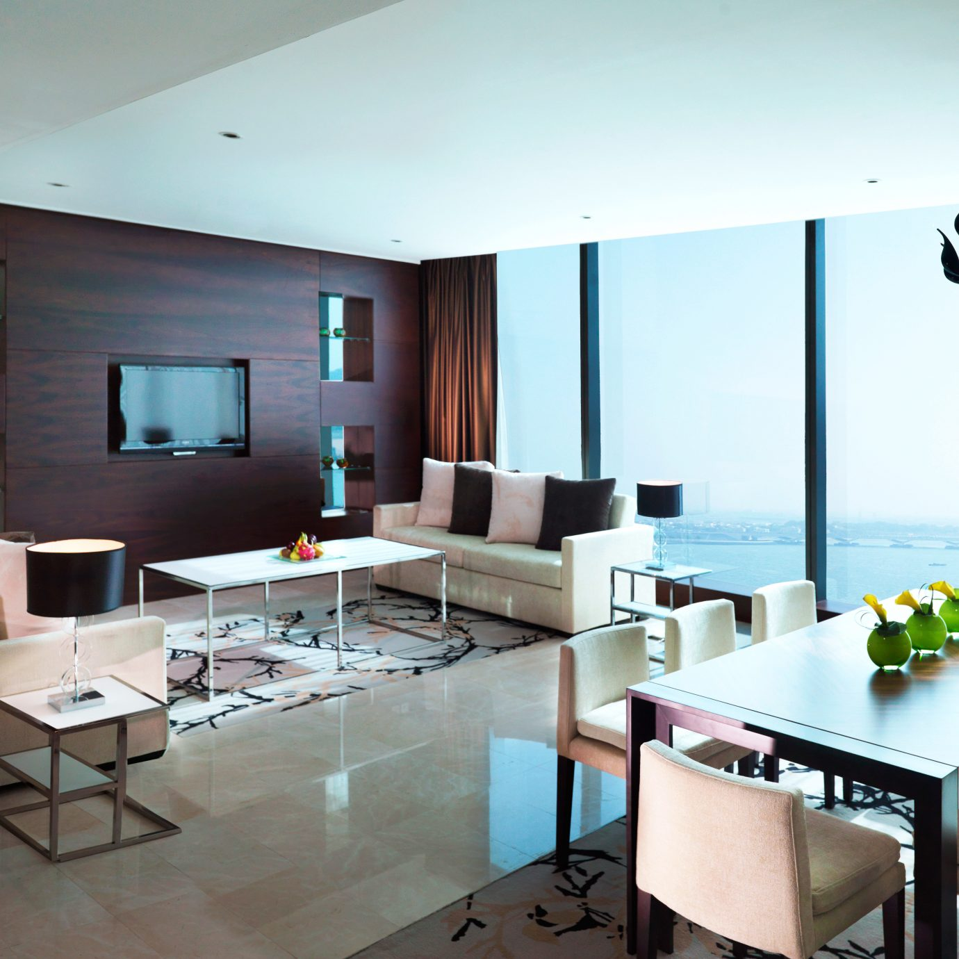 Bar Dining Drink Eat Hip Luxury Modern property living room condominium home Villa Island