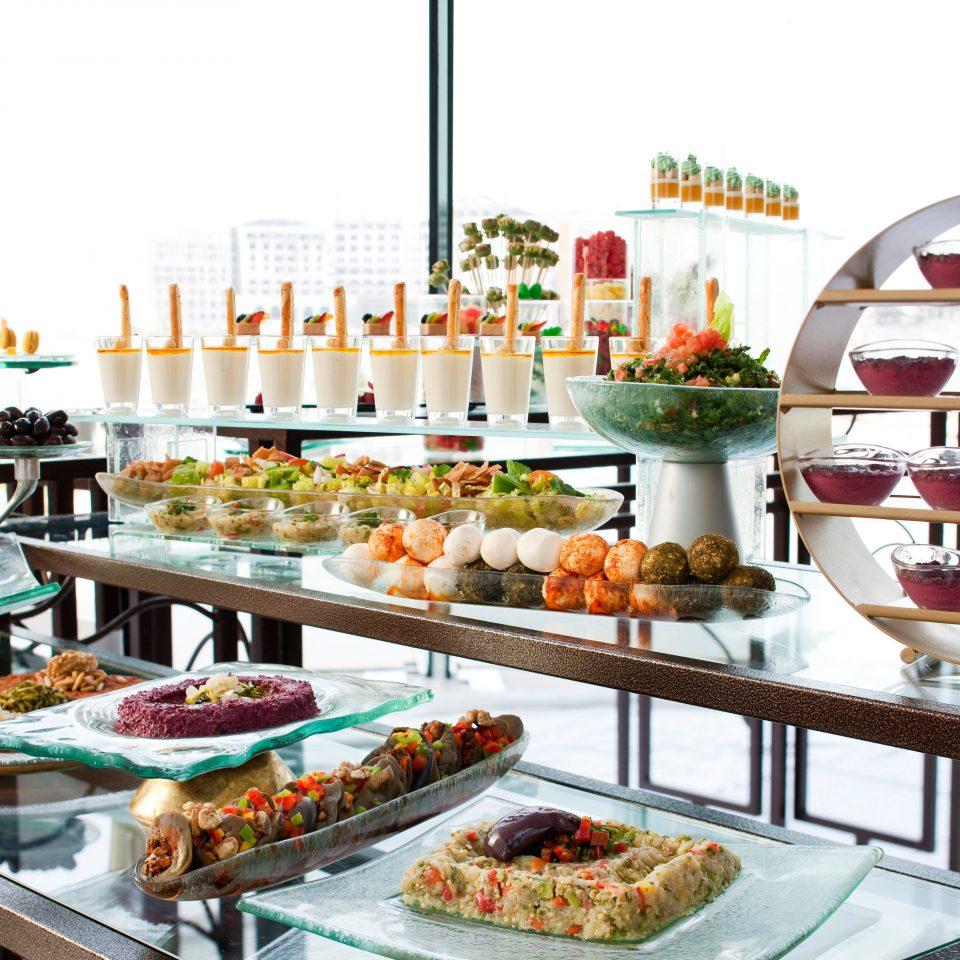 Bar Dining Drink Eat Hip Luxury Modern sky buffet food breakfast brunch restaurant cuisine fast food restaurant fast food