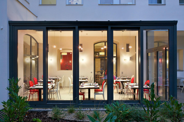 Bar Dining Drink Eat Luxury Modern retail display window restaurant store