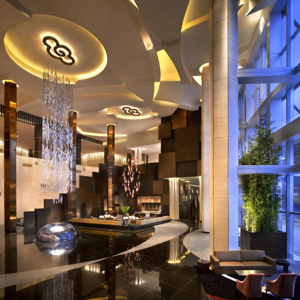 Bar Dining Drink Eat Luxury Modern Lobby lighting restaurant