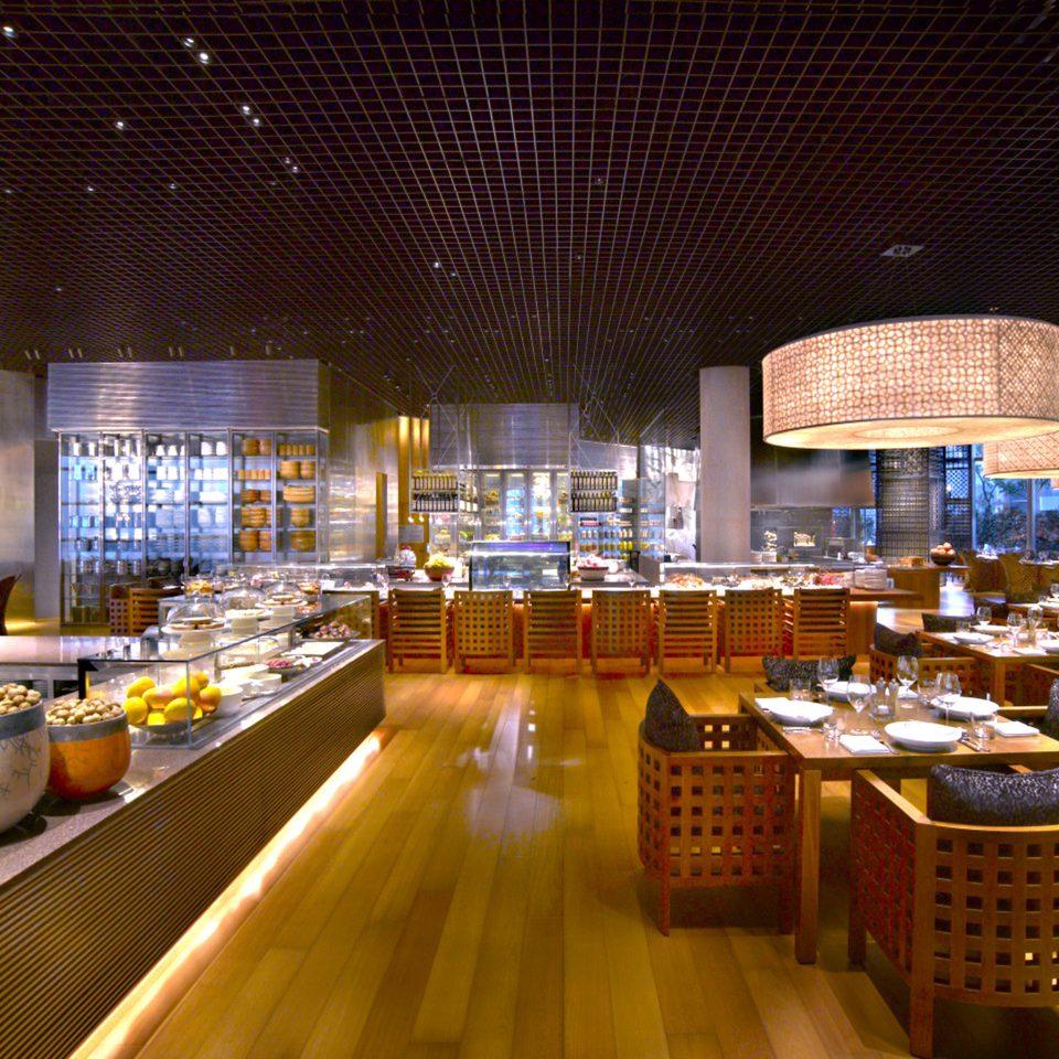 Bar Dining Drink Eat Luxury Modern restaurant convention center set