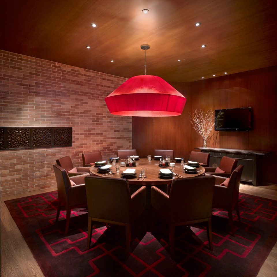 Bar Dining Drink Eat Luxury Modern restaurant red function hall