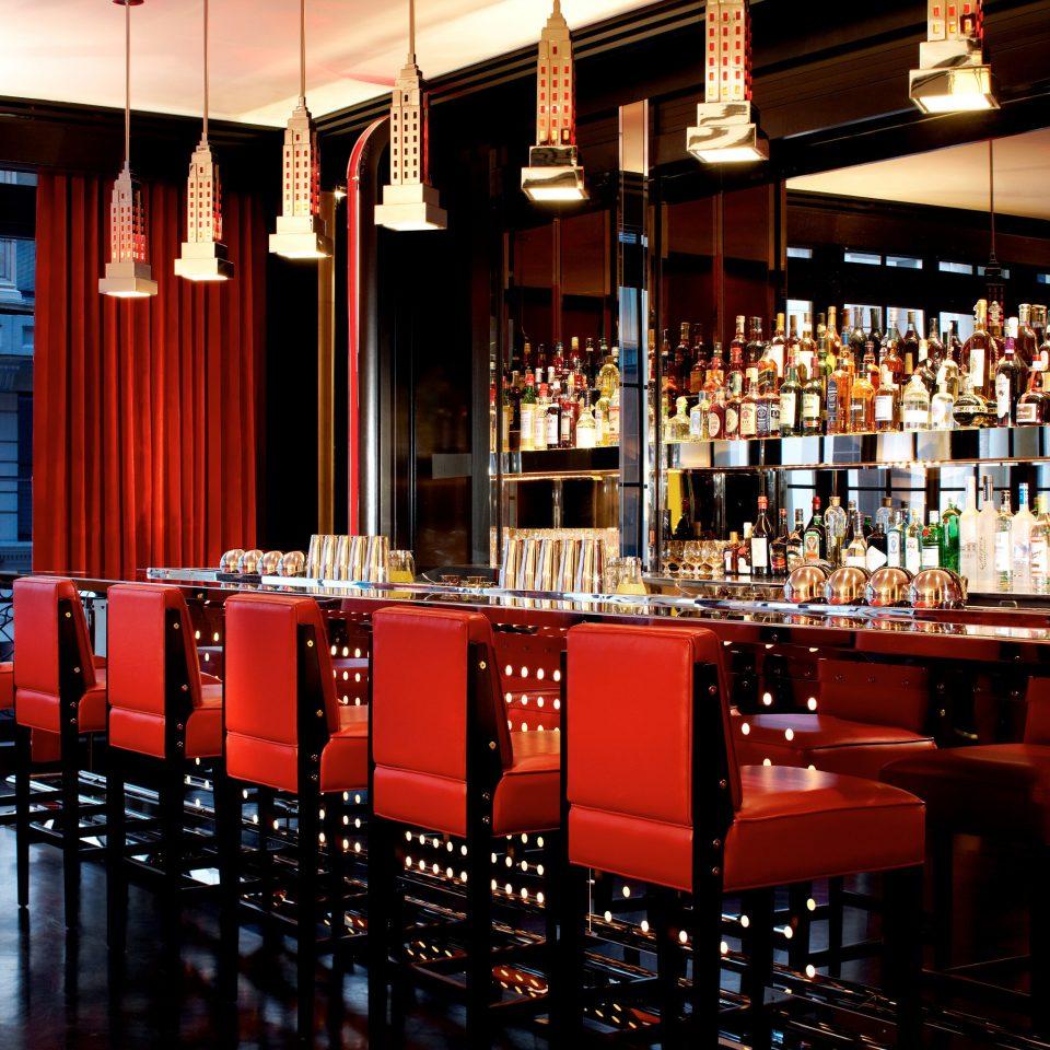 Bar Dining Drink Eat Hotels Luxury Luxury Travel Modern building red function hall restaurant nightclub