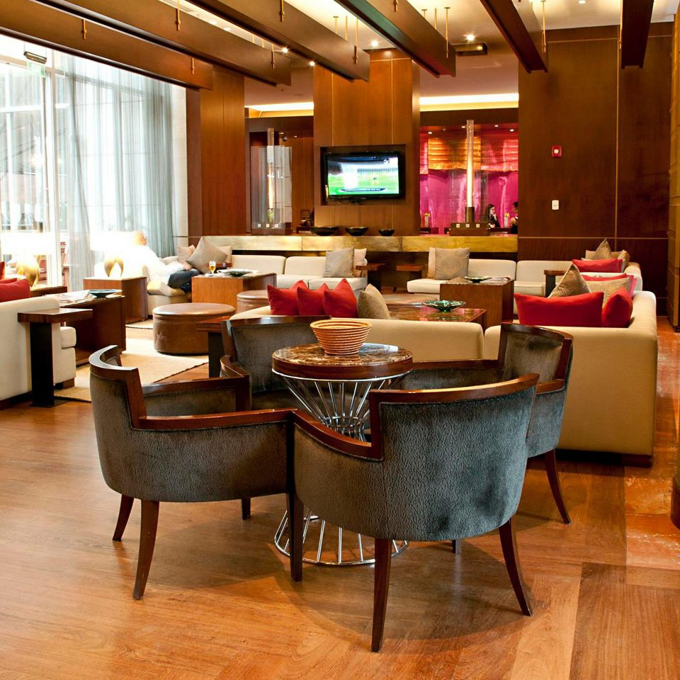 Bar Dining Drink Eat Hip Luxury recreation room property chair billiard room Lobby living room home Suite restaurant flooring