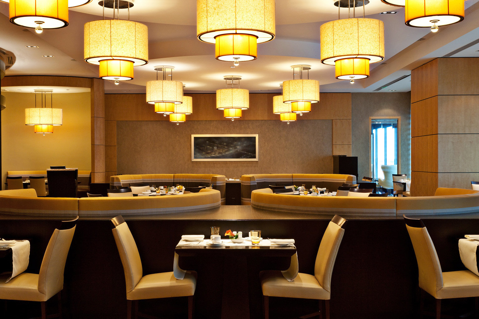 Dining Drink Eat function hall conference hall restaurant lighting Bar