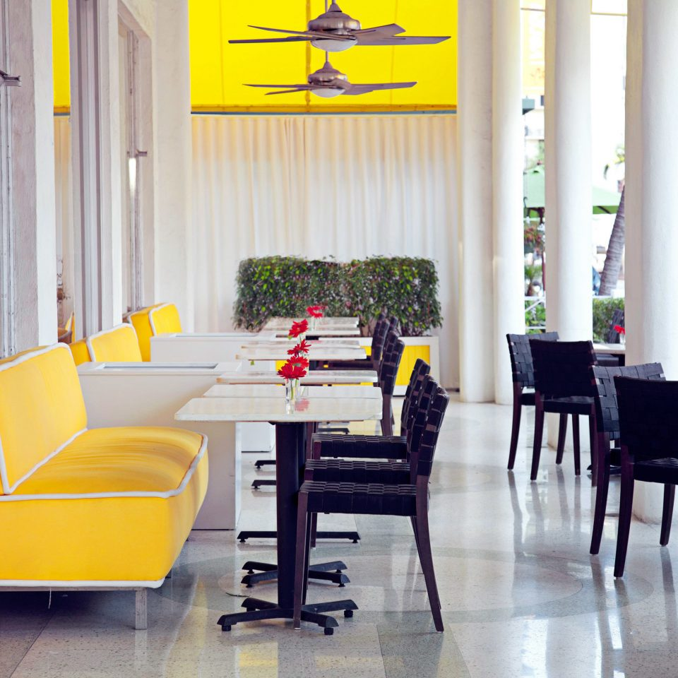 Bar Dining Drink Eat Hip Luxury Modern chair property yellow waiting room home living room condominium Suite
