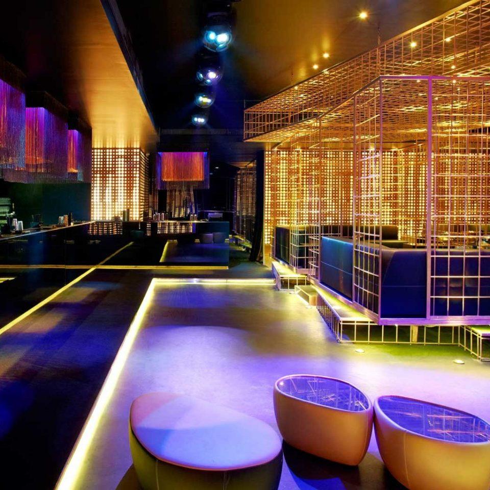 Bar Dining Drink Eat Lounge nightclub night music venue convention center empty bright