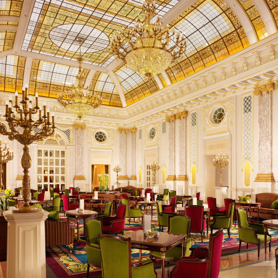 Bar Dining Drink Eat Historic Luxury function hall building palace aisle ballroom