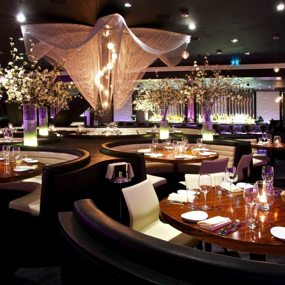 Dining Drink Eat Hip Lounge Luxury Modern function hall nightclub wedding reception restaurant banquet centrepiece ballroom Bar buffet