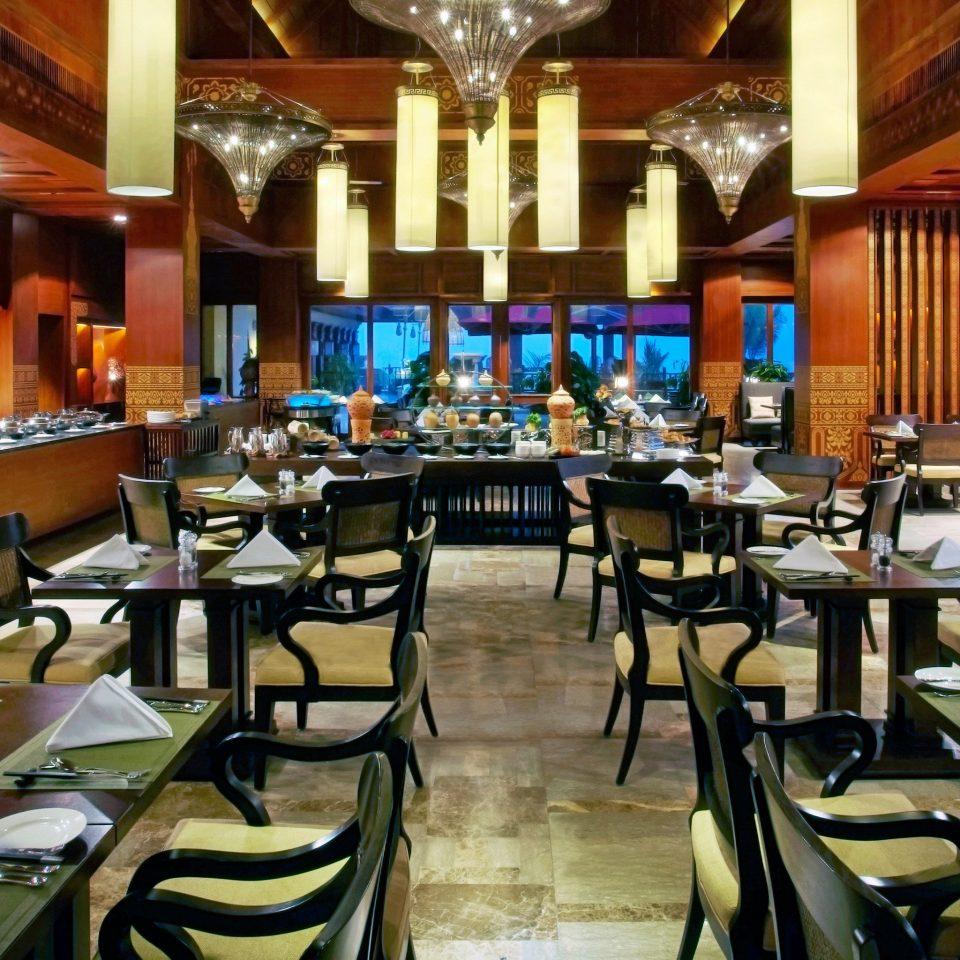 Bar Dining Drink Eat Elegant chair restaurant function hall Resort dining table