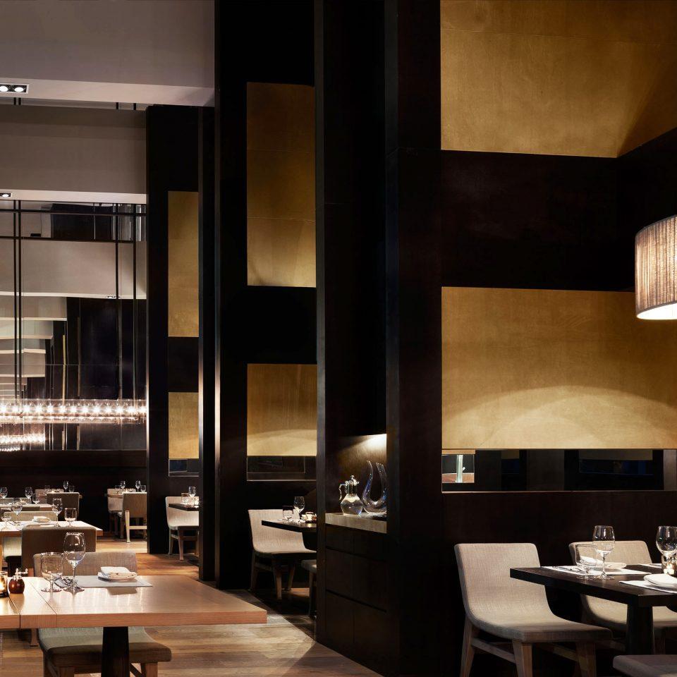 Bar Dining Drink Eat Hip Modern lighting living room home cabinetry restaurant