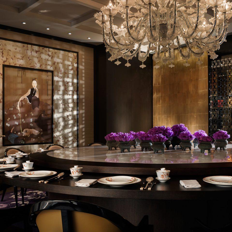 Bar Dining Drink Eat Hip Modern Lobby function hall lighting restaurant ballroom living room dining table