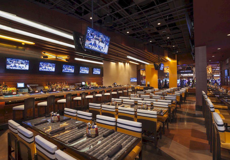 Bar Dining Drink Eat Hip Modern Nightlife food court restaurant long lined line