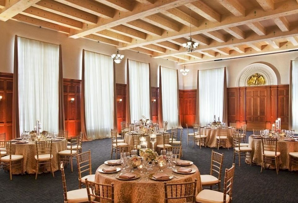 Bar Dining Drink Eat Elegant function hall ballroom conference hall restaurant palace convention center auditorium banquet set Island