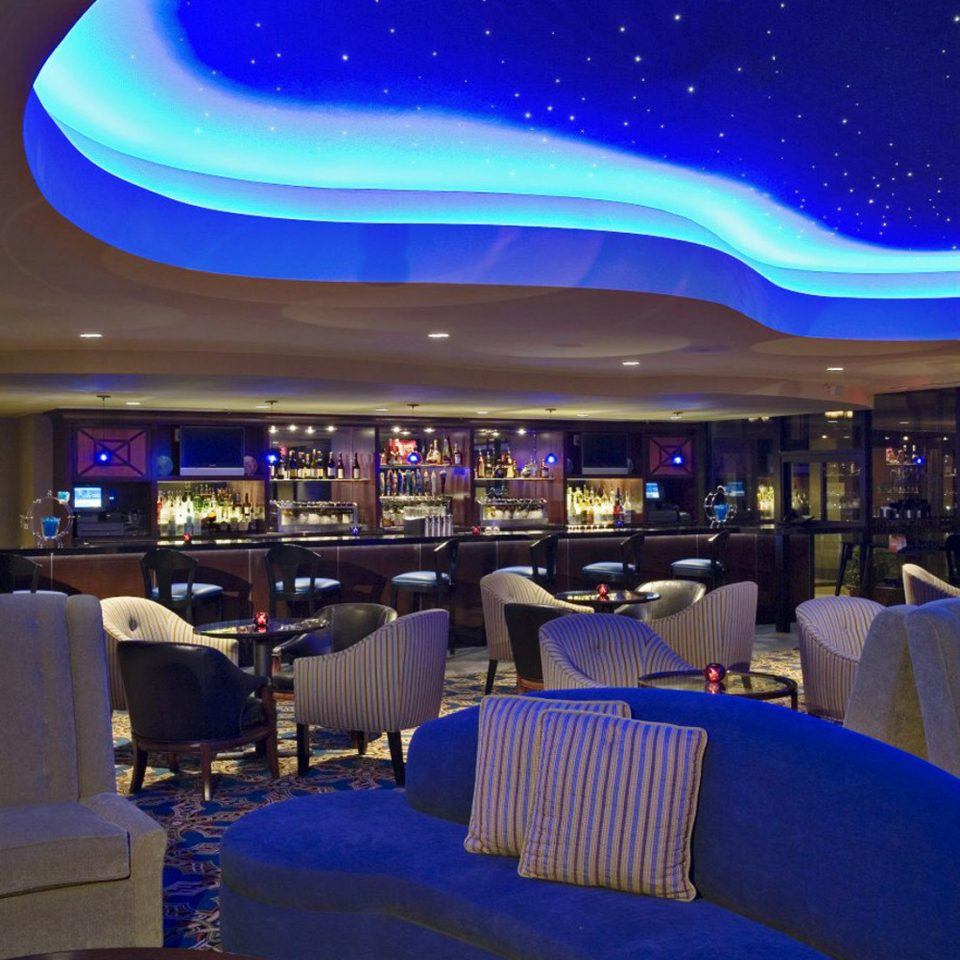Bar Dining Drink Eat Luxury theatre convention center auditorium blue