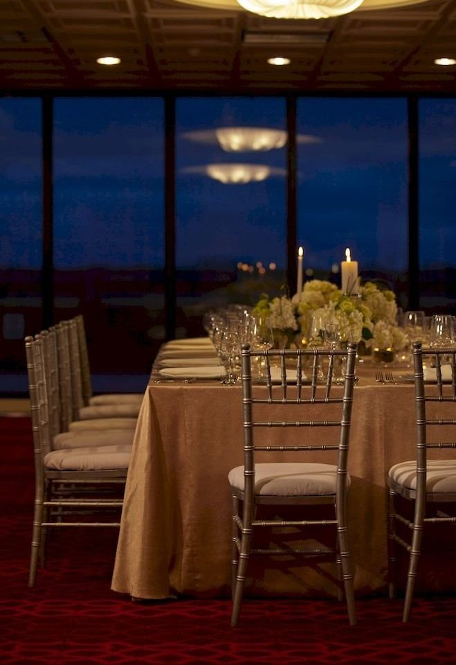 Bar Dining Drink Eat Hip Luxury Modern chair function hall restaurant banquet ballroom empty dining table