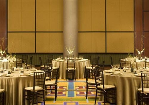 Bar Dining Drink Eat Luxury function hall banquet ceremony restaurant ballroom convention center wedding reception set