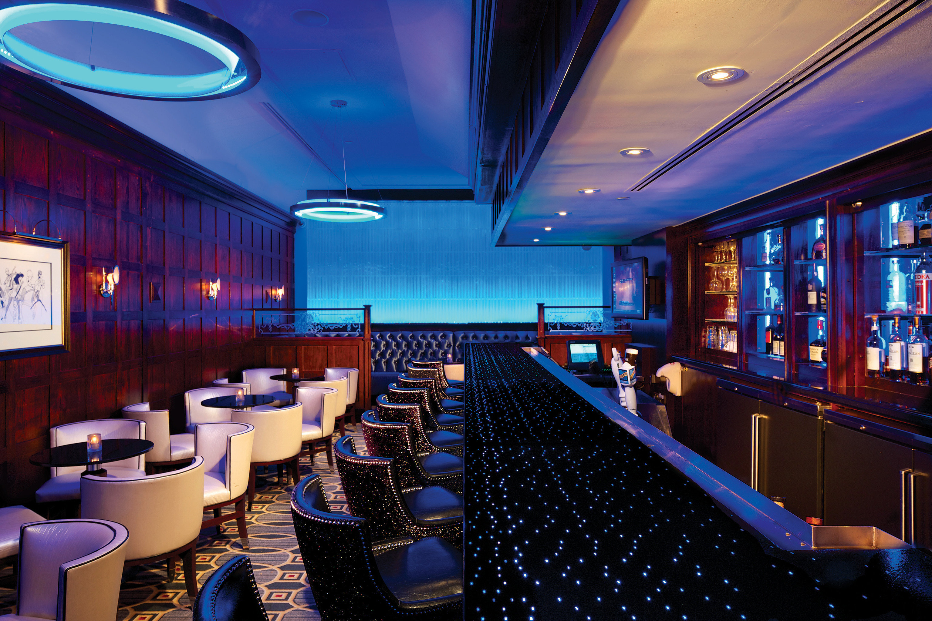 Bar Dining Drink Eat Hip Luxury Modern building function hall conference hall convention center nightclub recreation room