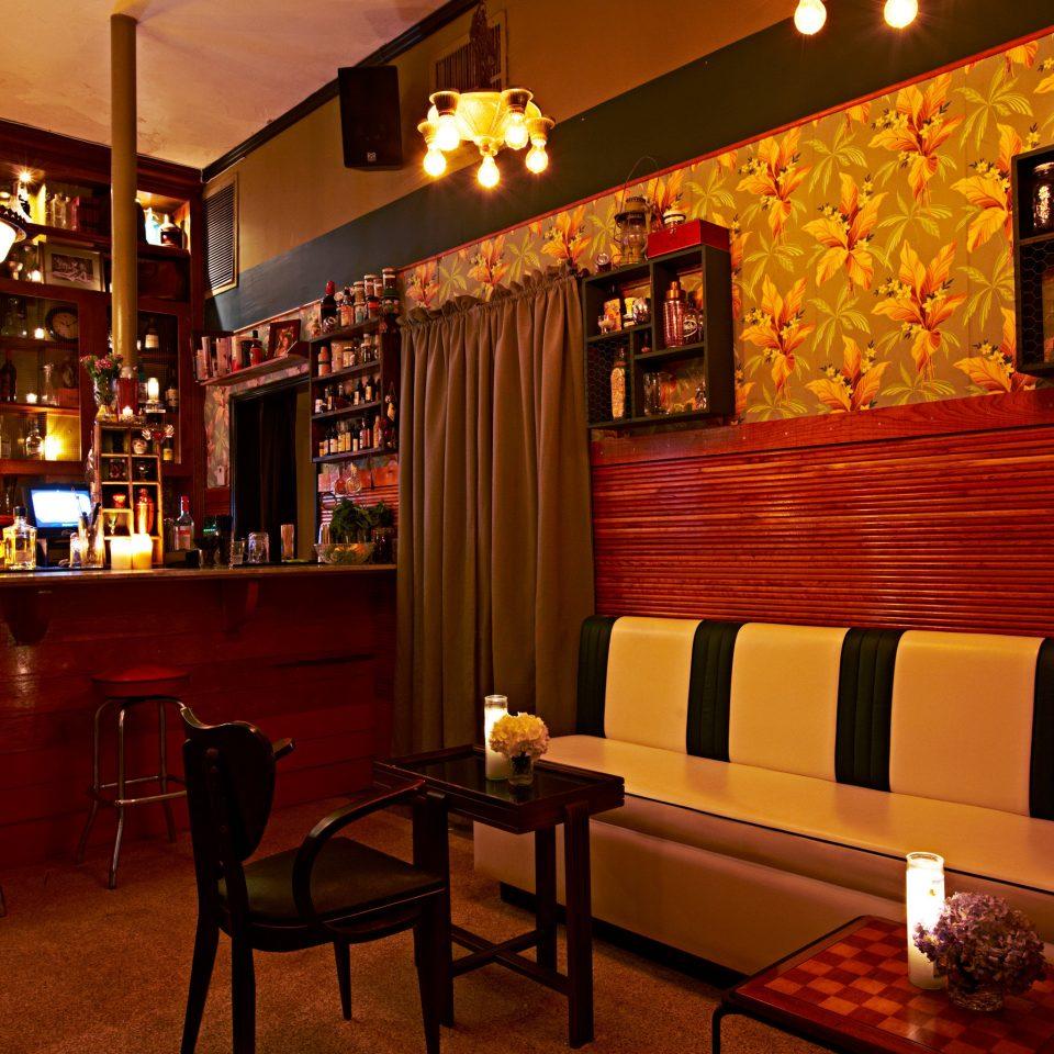 Bar Dining Drink Eat Food + Drink Hip Lounge Modern Trip Ideas restaurant café