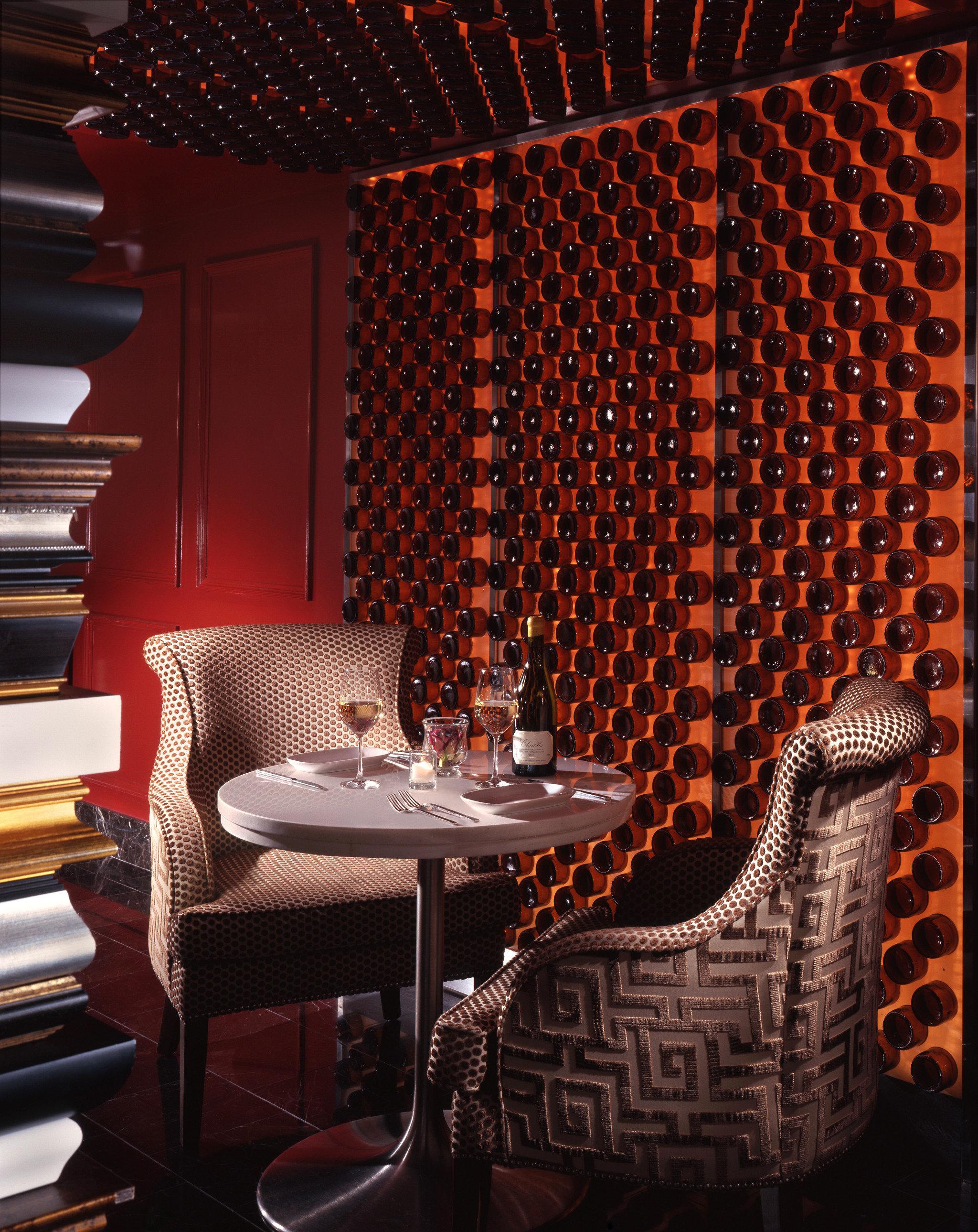 Bar Dining Drink Eat Luxury Modern chair lighting stage restaurant wallpaper