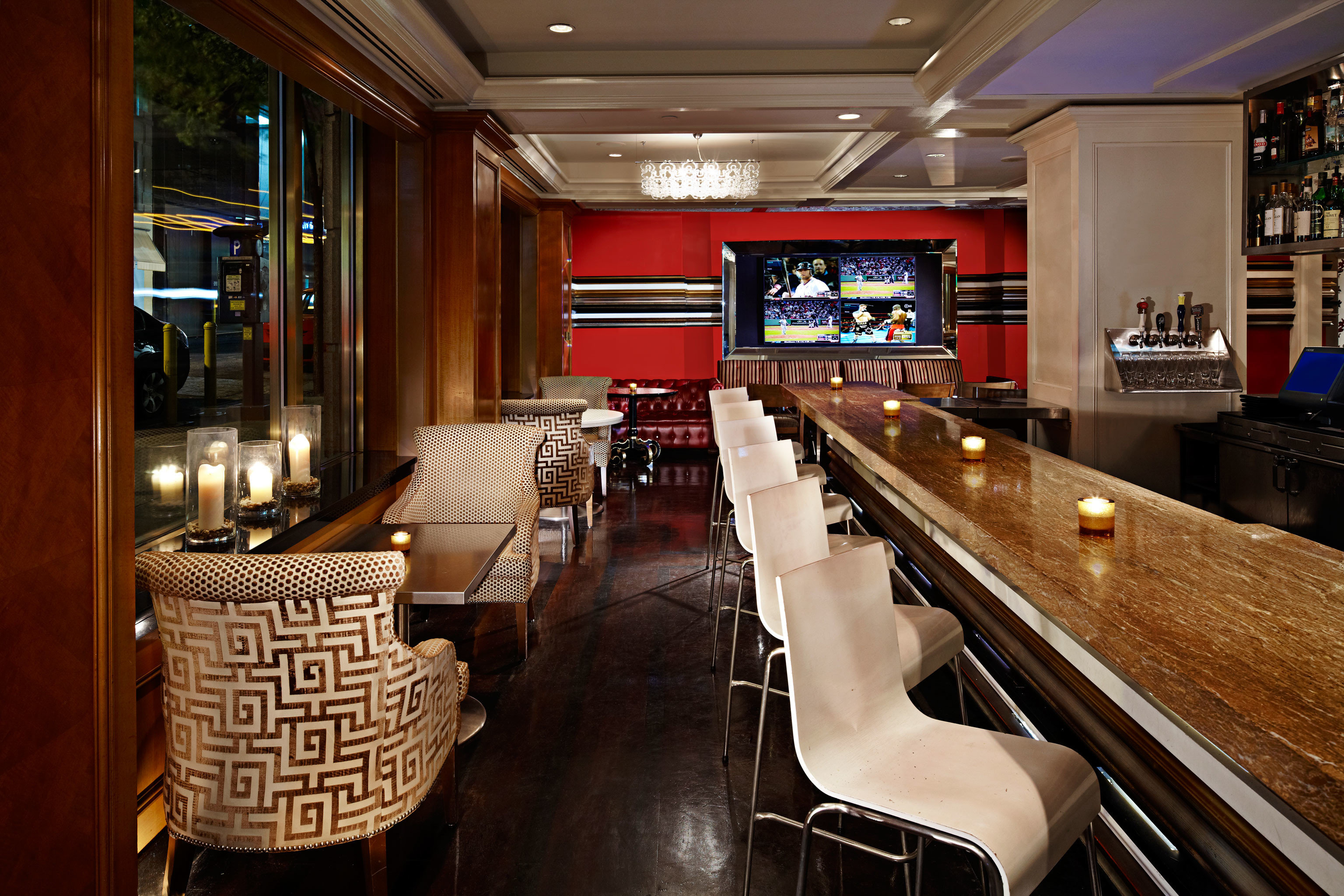 Bar Dining Drink Eat Luxury Modern recreation room billiard room restaurant home dining table