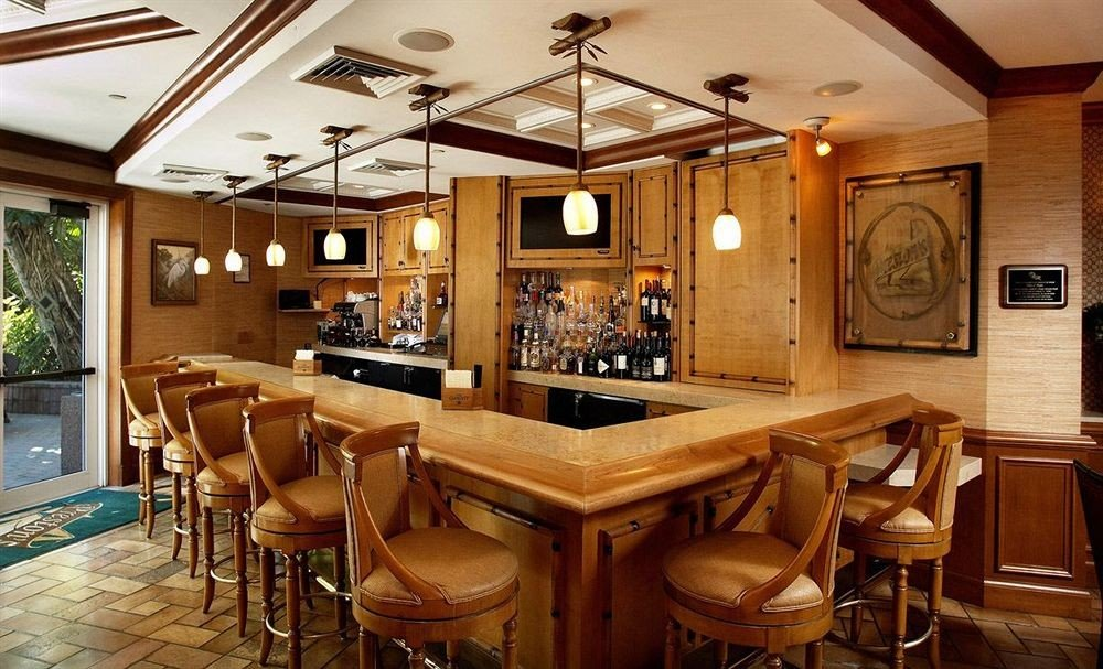 Bar Dining Drink Eat Hip Luxury chair property wooden restaurant home Resort cottage recreation room Island