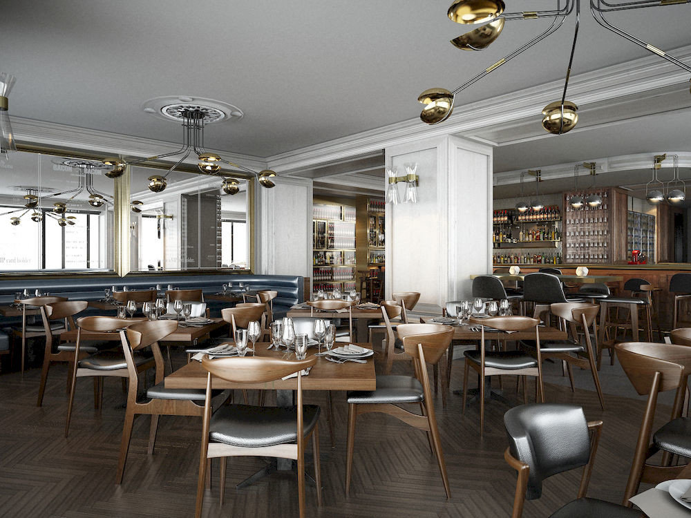 Bar Dining Drink Eat Elegant Hip Luxury chair restaurant property function hall café cafeteria dining table