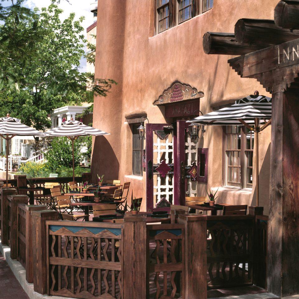 Dining Drink Eat Modern Outdoors Patio Rustic Terrace restaurant wooden Bar