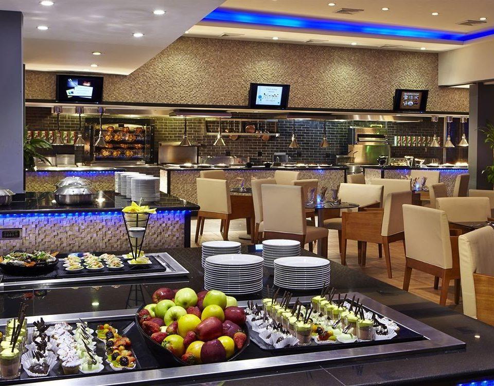 Bar Dining Drink Eat Lounge Modern food food court restaurant fast food restaurant buffet counter fresh