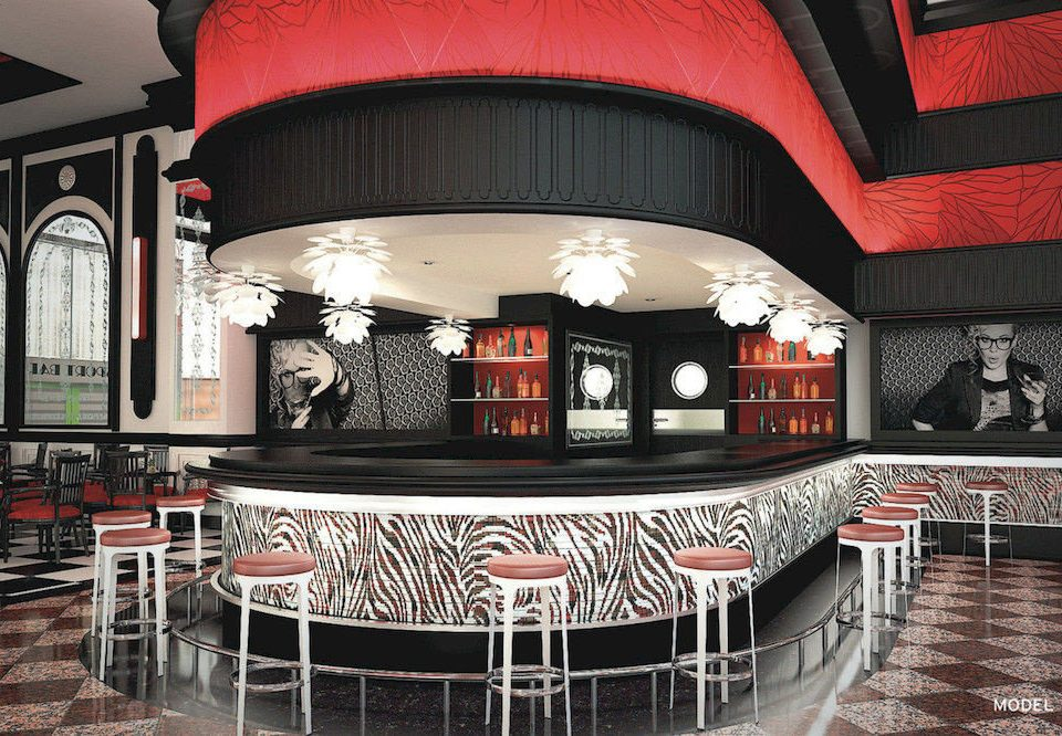 Bar Dining Drink Eat Hip Luxury stage restaurant theatre