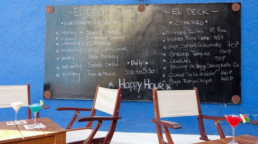 Bar Dining Drink Eat Elegant Hip Luxury Modern text chair blackboard plaque classroom