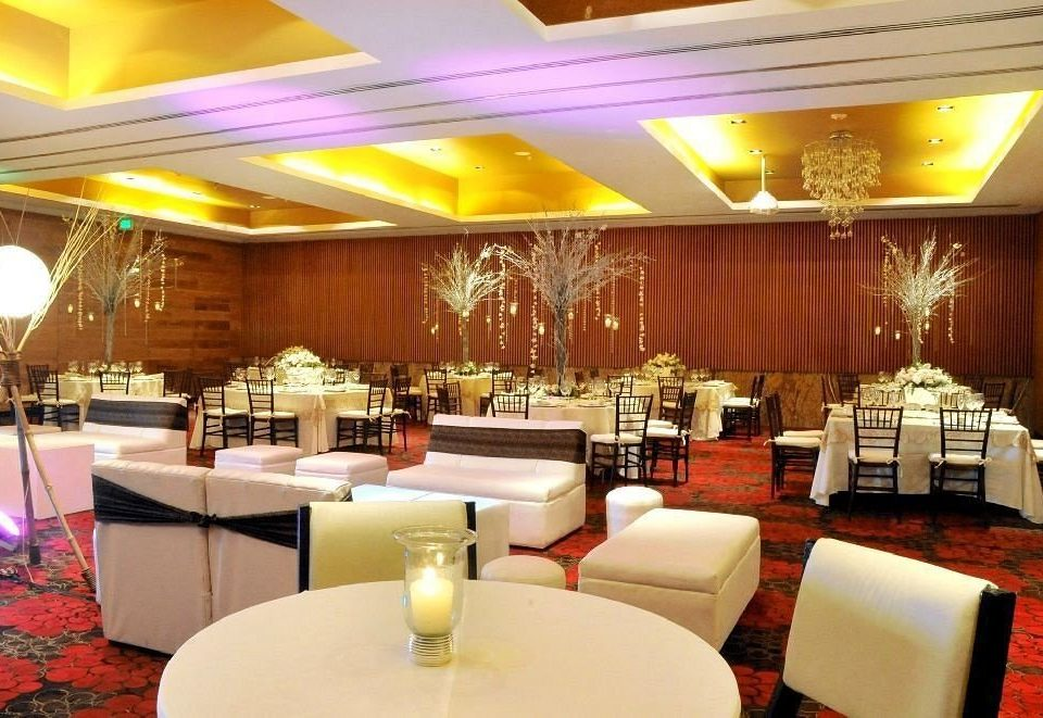 Bar Dining Drink Eat Hip Luxury Modern function hall restaurant Lobby conference hall convention center banquet ballroom