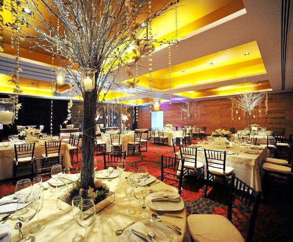 Bar Dining Drink Eat Hip Luxury Modern restaurant function hall buffet Lobby ballroom banquet