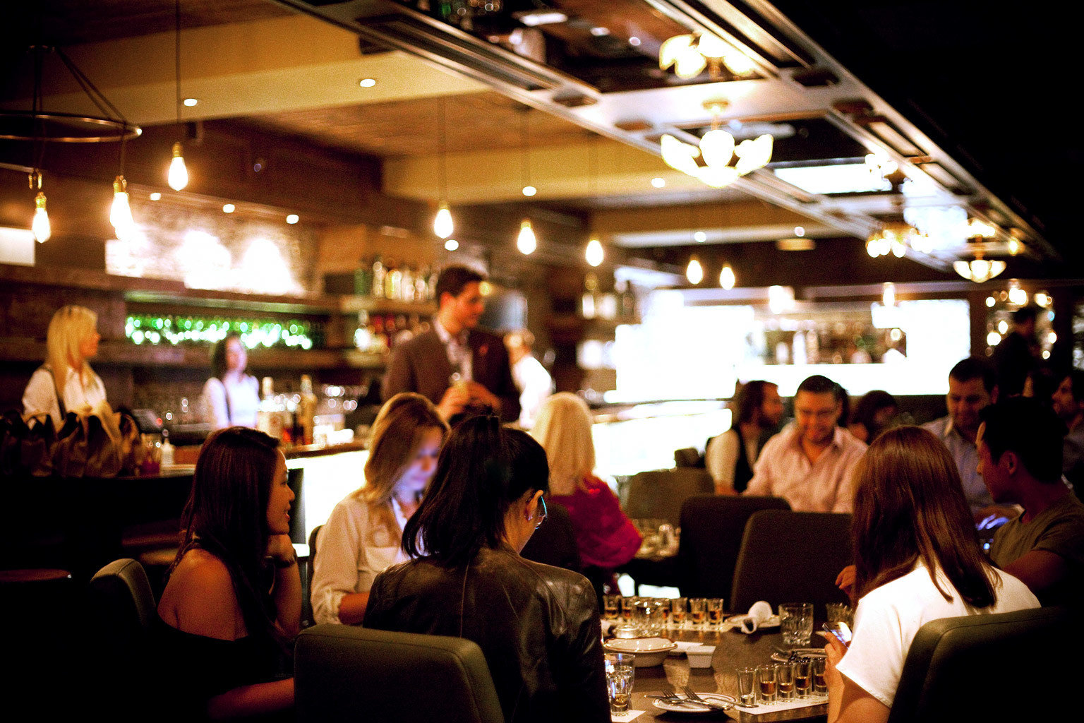 Bar Dining Drink Eat Elegant Luxury Nightlife restaurant sense crowd