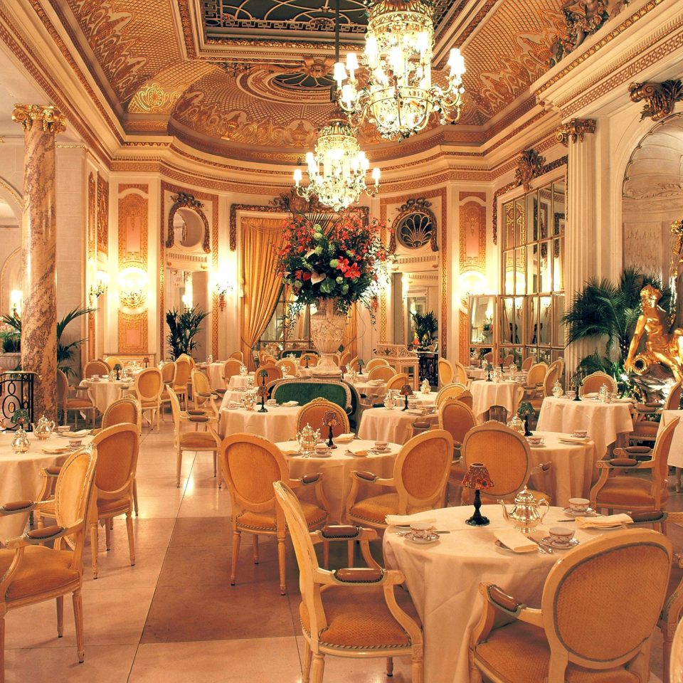 Bar Dining Drink Eat Elegant Luxury chair function hall restaurant palace ballroom wedding reception Lobby dining table