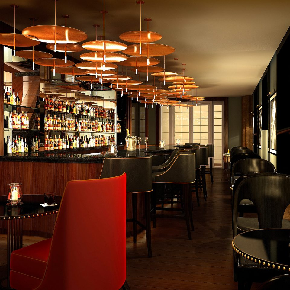 Bar Dining Drink Eat Hip Luxury Modern restaurant lighting café coffeehouse