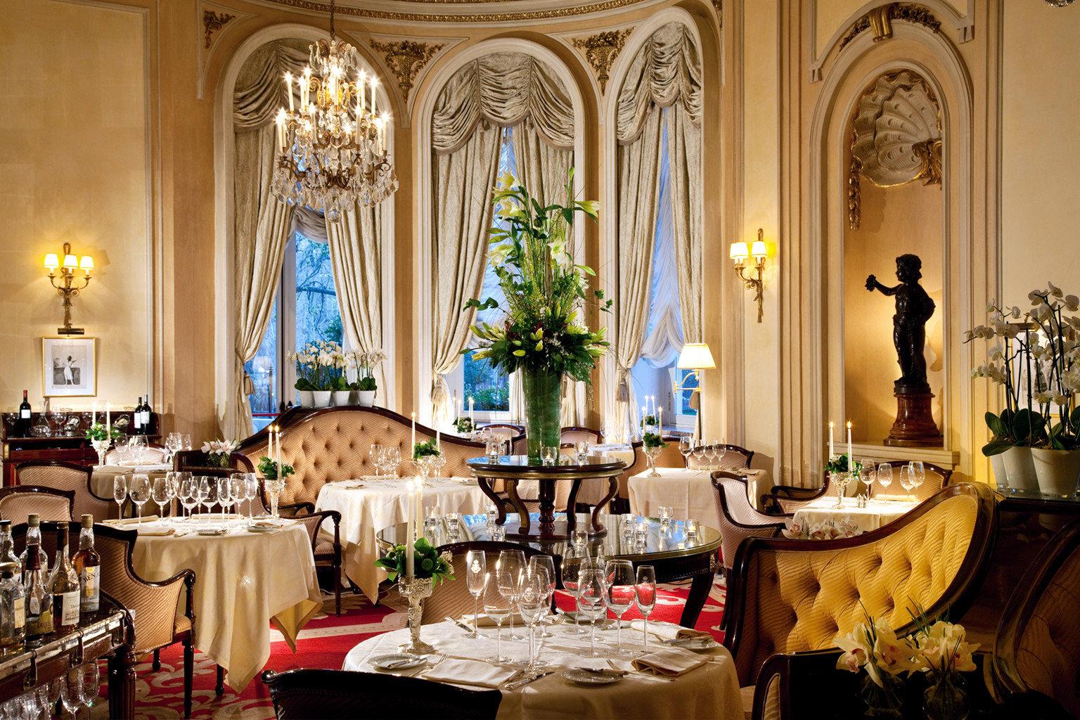 Bar Dining Drink Eat Elegant Historic Hotels Madrid Spain function hall ceremony ballroom palace fancy
