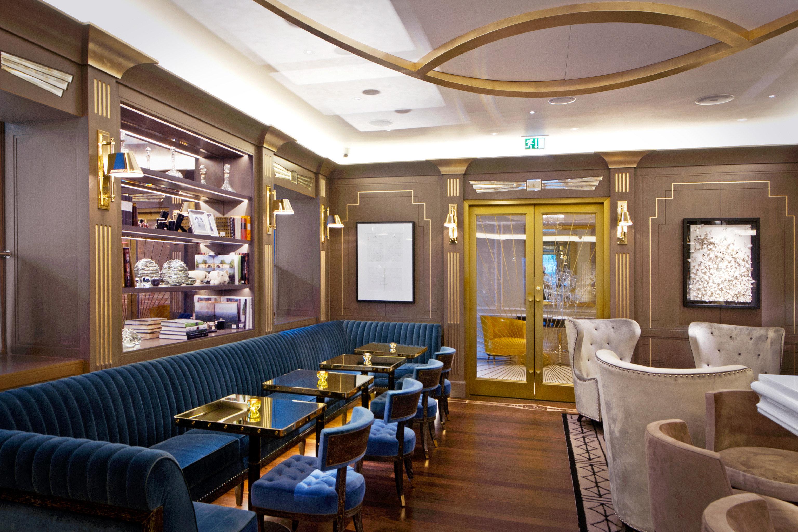 Bar Dining Drink Eat Luxury Modern vehicle yacht restaurant passenger ship Lobby