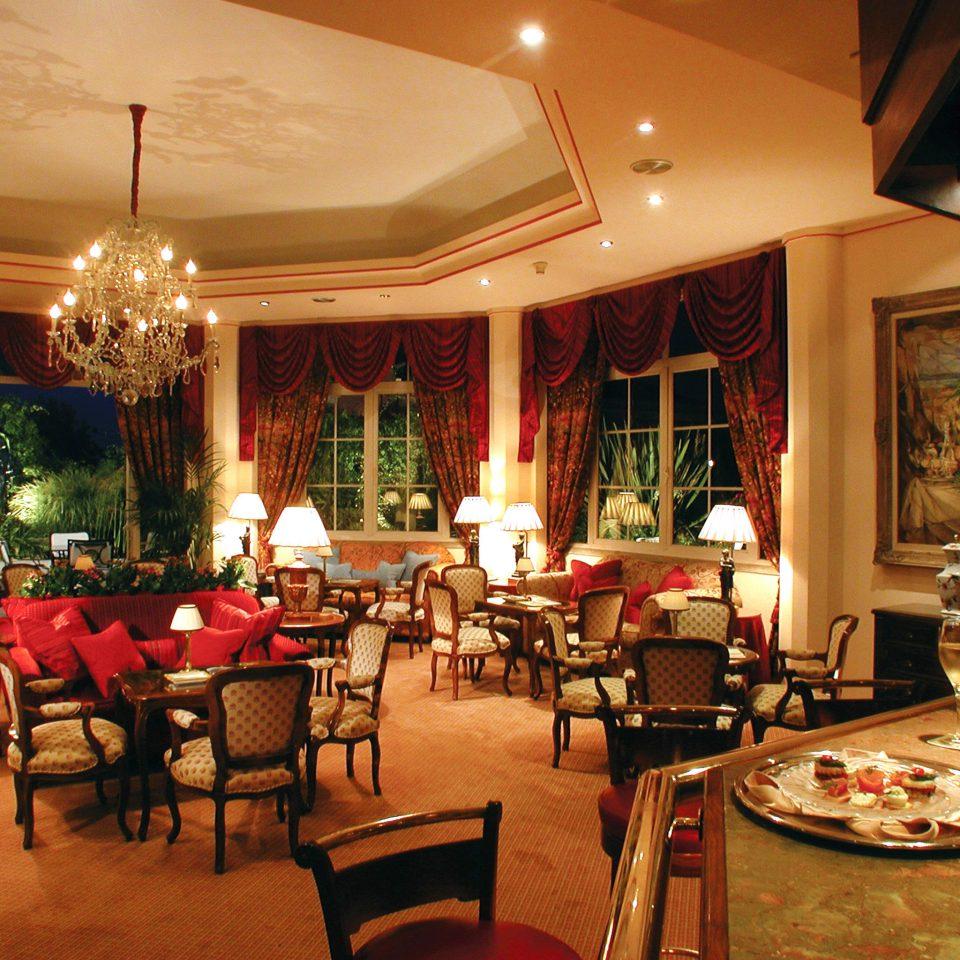 Bar Dining Drink Eat Historic Luxury Romantic chair restaurant function hall Lobby ballroom palace dining table