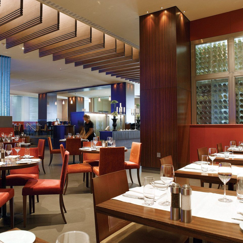 Dining Drink Eat Hip Lounge Modern chair restaurant café function hall Resort Bar cafeteria