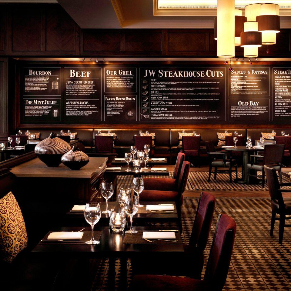 Dining Drink Eat Historic Lounge Luxury Modern restaurant Bar set