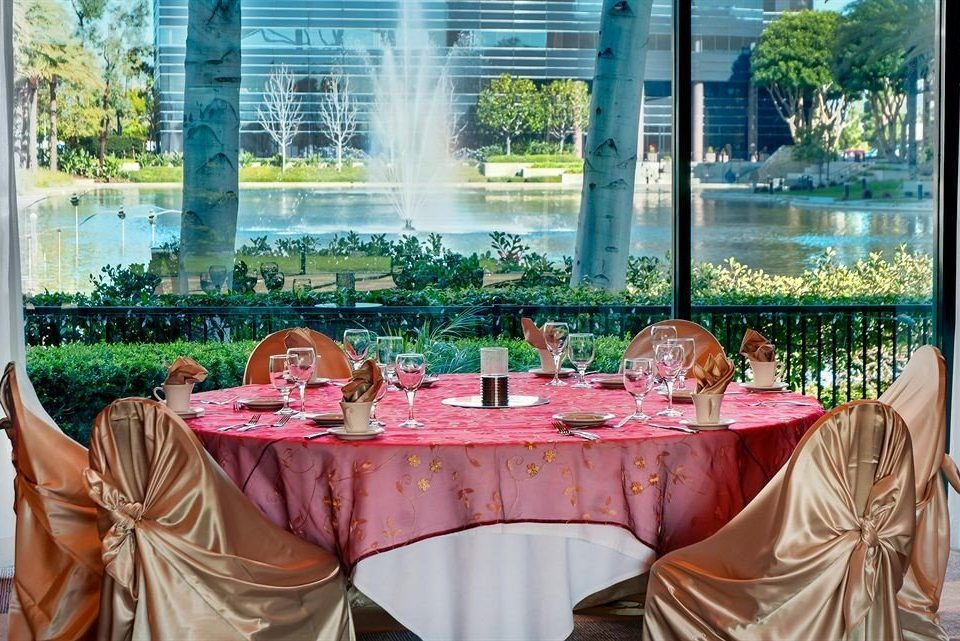 Bar Dining Drink Eat Hip Luxury ceremony floristry wedding restaurant function hall pink flower banquet