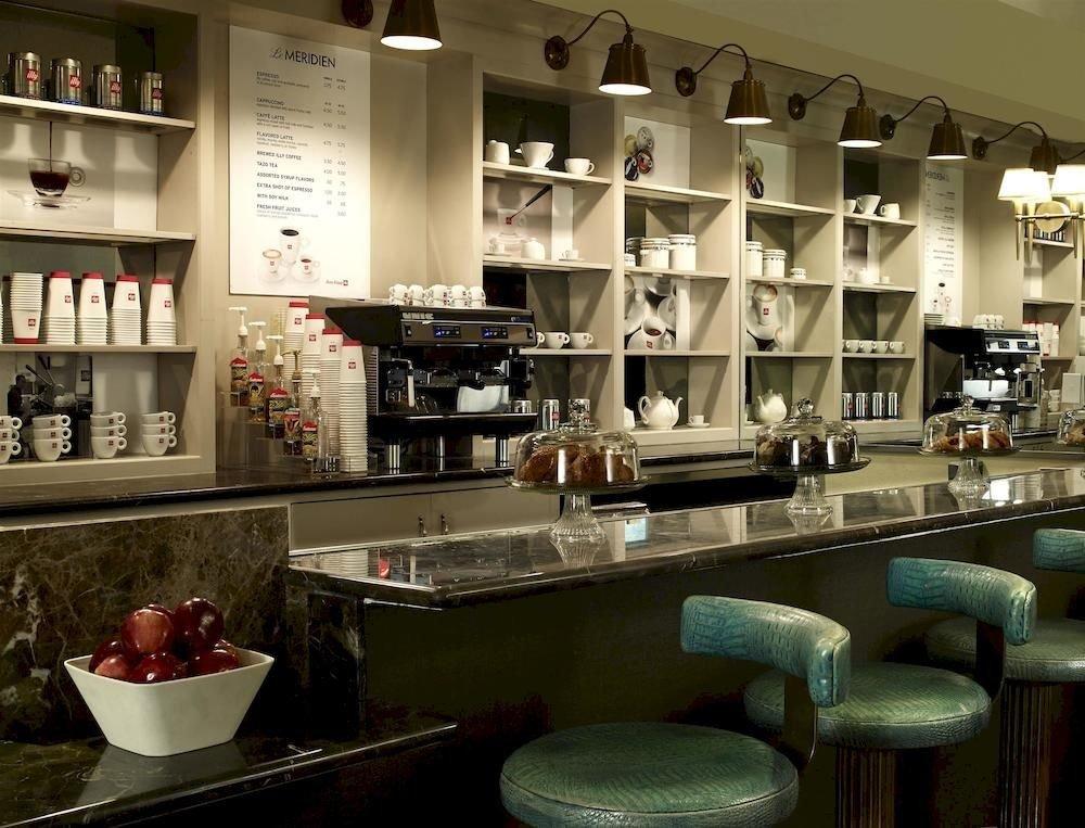 Bar Dining Drink Eat Hip Modern restaurant café coffeehouse cluttered