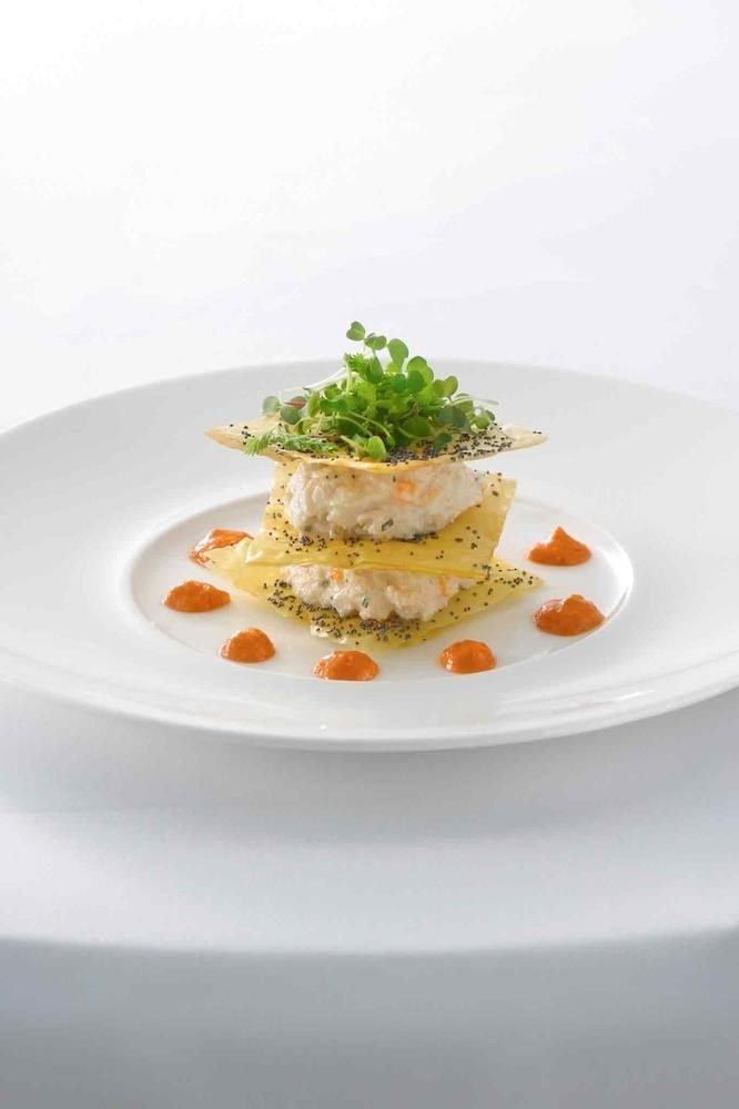 Bar Dining Drink Eat Luxury Modern plate food white cuisine fish breakfast vegetable vegetarian food
