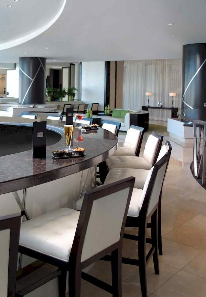 Bar Dining Drink Eat Luxury Modern property condominium home Suite restaurant dining table